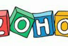 Logo dibujado de ZOHO