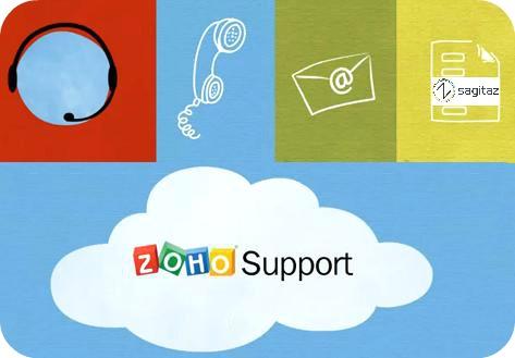 usuarios ilimitados zoho support. Sagitaz es Zoho en español