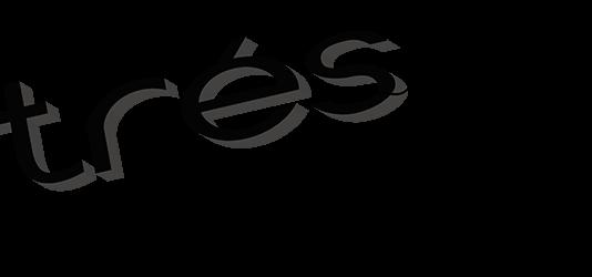 "Dibujo de un monigote arrastrando la palabra ""estrés"""
