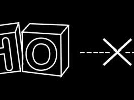 Logo de zoho en blanco y la tierra sobre un fondo negro