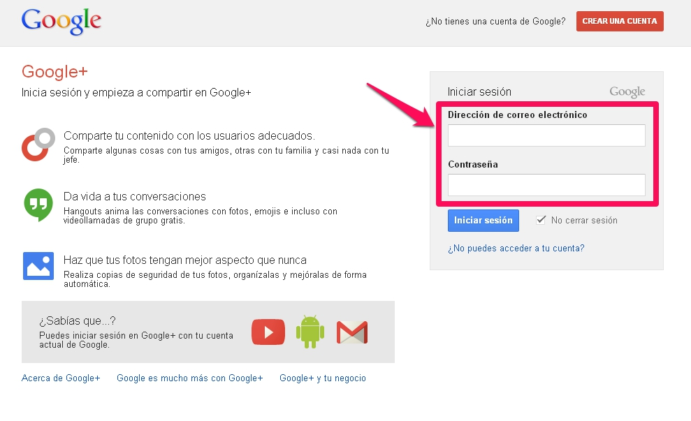 hangout gmail