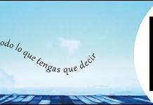 """Logo Sagitaz y texto """"Queremos escuchar todo lo que tengas que decir"""" y logo Lucid"""