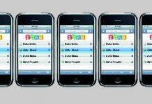 Dispositivos moviles con el logo de Zoho en las pantallas