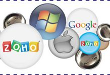 Google apps, microsoft, zoho, apple