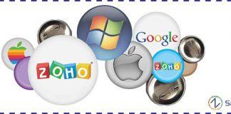 Google apps, microsoft, zoho, apple