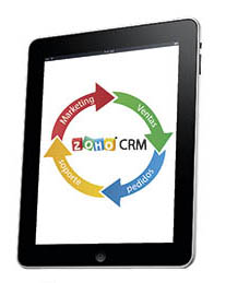 tablet Zoho CRM