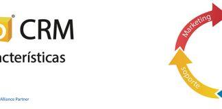 Logo de Zoho CRM con un ciclo de ventas