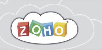 Logo de zoho dentro de una nube