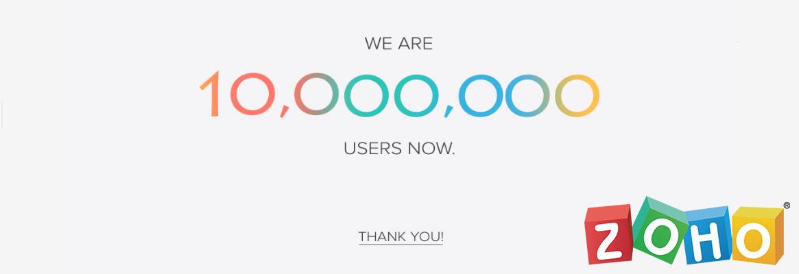 10 millones usuarios zoho-sagitaz.com