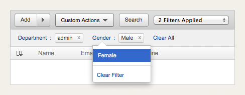 multi levels filter