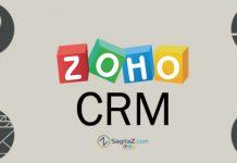 Zoho CRM con circulos dibujados