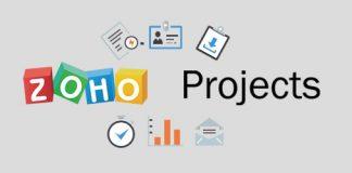 Logo de zoho Projects