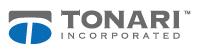 logo de tonari incorporated sobre un fondo blanco