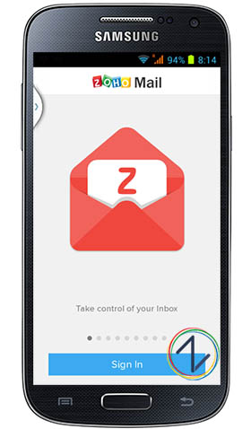 Zoho mail android