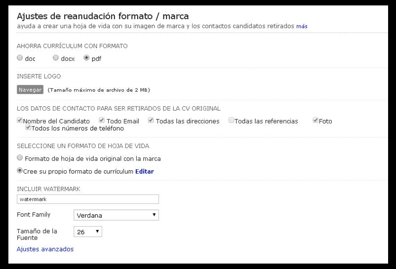 Zoho Recruit: Nueva plantilla personalizable para CV