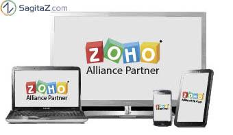 zoho partner pantallas dispositivos tablet movil sagitaz