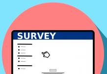 survey en pantalla de un ordenador dibujado
