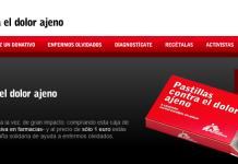 captura de pantalla de comprar pastillas contra el dolor ajeno
