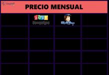 tabla de precios de las suscripciones de zoho campaings comparado con mailchip