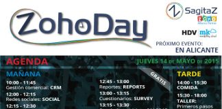 cartel de zohoday en alicante