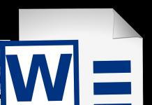 logo de word microsoft