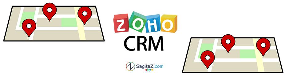 Localiza a tus contactos de Zoho CRM con Google Maps on