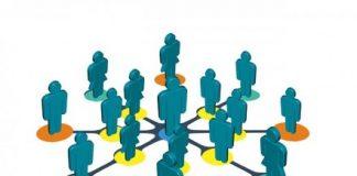 dibujo de personas conectadas entre si