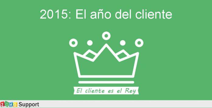 dibujo de una corona sobre un fondo verde con el logo de zoho support