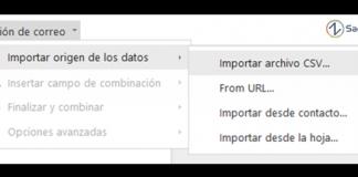 captura de pantalla de zoho writter con el logo de sagitaz panel de fusion de correo