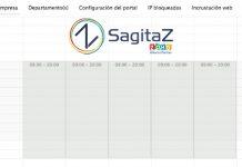 zoho salesiq captura de pantalla franja horaria de chat apagado