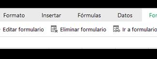 zoho sheet captura de pantalla del panel de crear un formulario