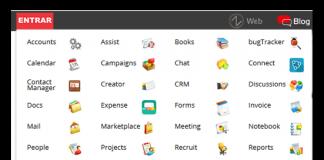 blog sagitaz captura de pantalla del menu de aplicaciones