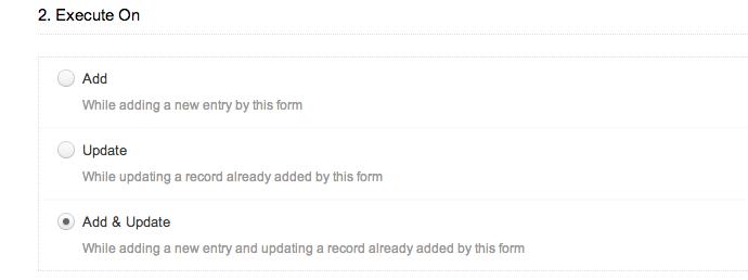 zoho creator captura de pantalla de la configuracion de las notificaciones