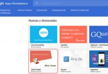 captura de pantalla de google apps zoho people destacada