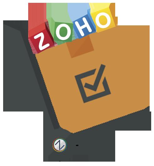 Zoho Inventory te da l... Zoho Logo Png