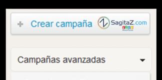 zoho campaigns captura de pantalla de la ventana de creacion de campañas