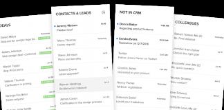Zoho Mail captura de pantalla de las columnas de prioridad