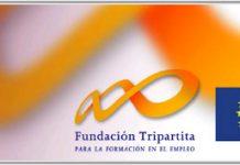 logo de la fundacion tripartita y el fondo social europeo