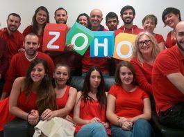 Equipo del personal de SagitaZ empresa orientada 100% Zoho