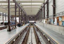 cadena de montaje en una fabrica