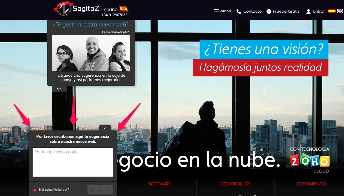 sugerencias-web-sagitaz