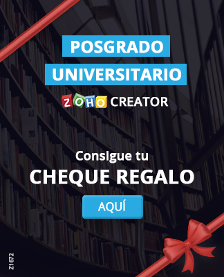 Posgrado Universitario Zoho Creator Cheque Regalo