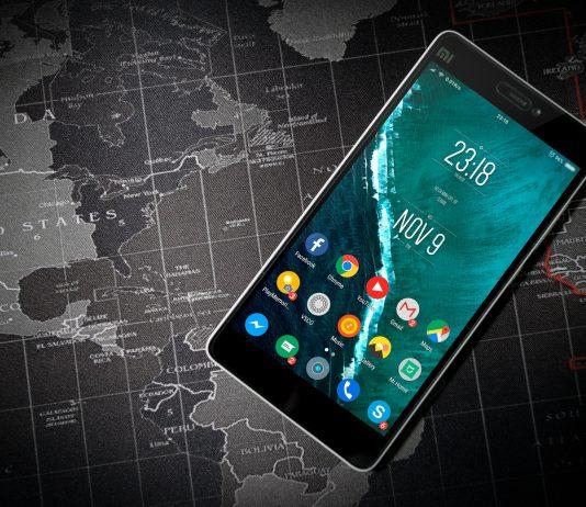 Móvil android mapa mundo apps