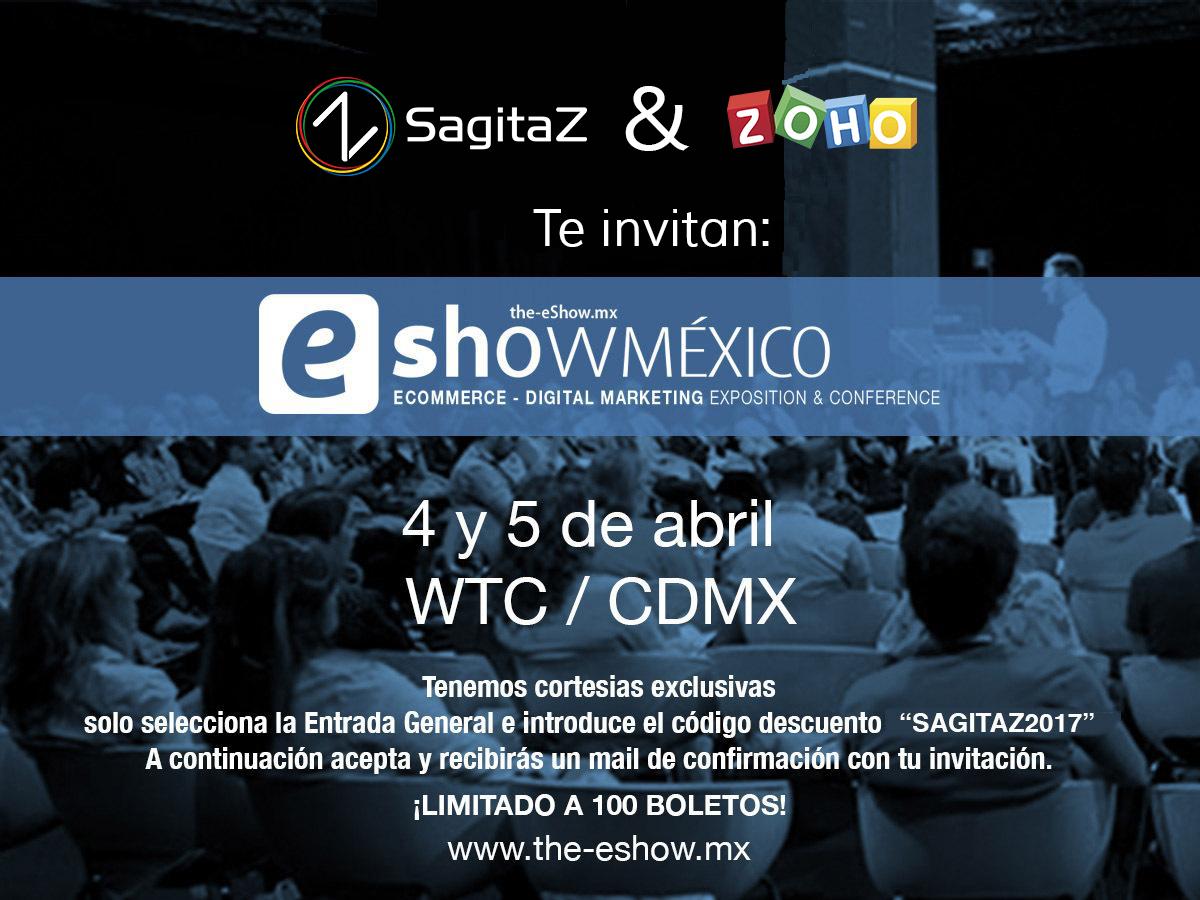 Invitación eShow México 2017