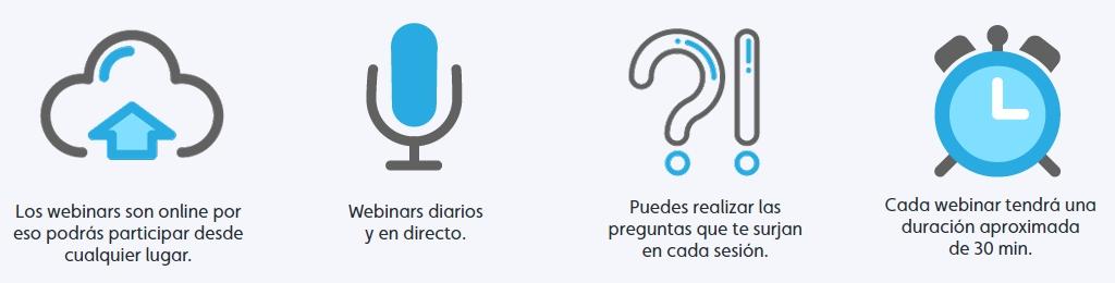 Webinars Zoho en español en Zenith School