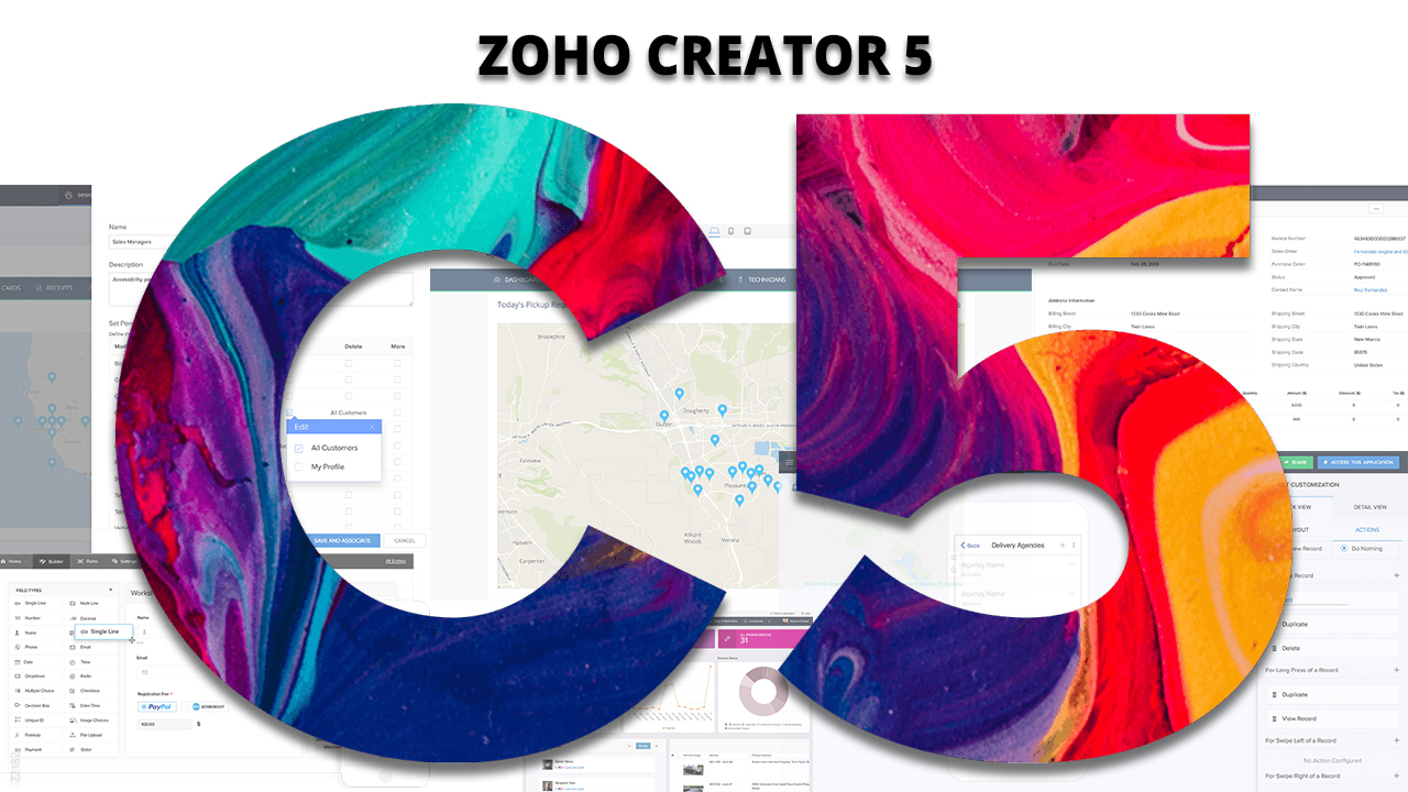 Discover the new features of Zoho Creator » Blog SagitaZ
