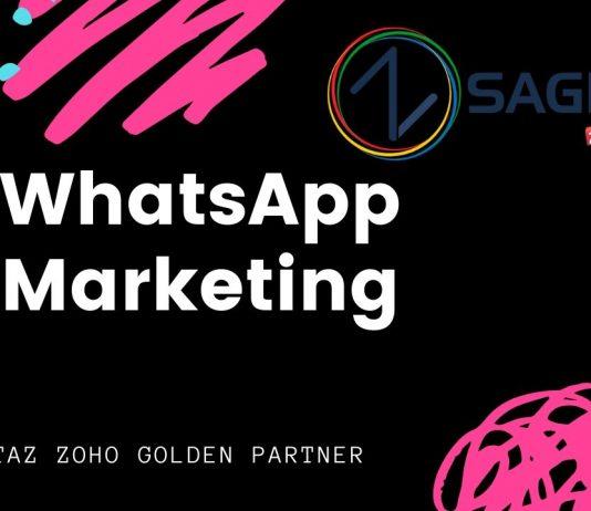 WhatsApp marketing manager