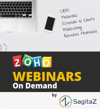 ZOHO Webinars On Demand by SAGITAZ