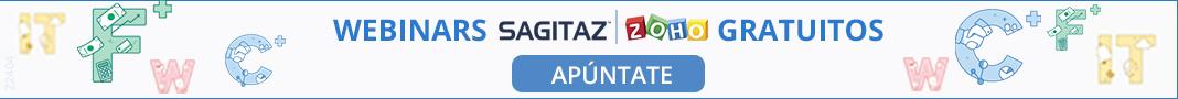 Webinars SAGITAZ | ZOHO