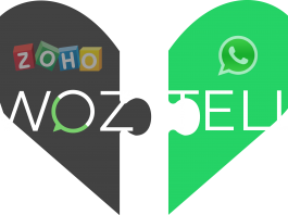 WhatsApp y ZOHO